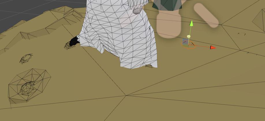 Cutscene-Footprints
