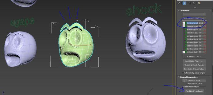 Inside Animation: Face Morphing   Game Revenant
